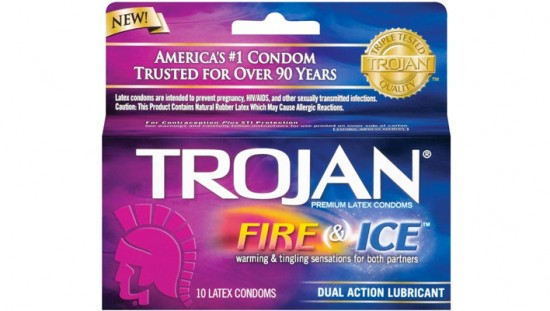 Consumer Alert – Trojan Fire & Ice Condoms